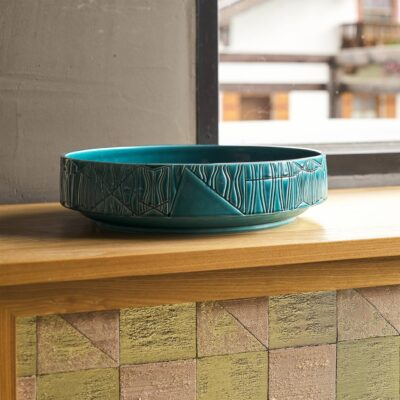 Handgefertigte XL-Schale Bolo F von Bitossi Ceramiche jetzt online kaufen