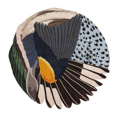 Design-Teppich Feathers von CC-TAPIS jetzt online kaufen