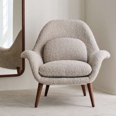 Lounge-Sessel Swoon von Fredericia jetzt online kaufen